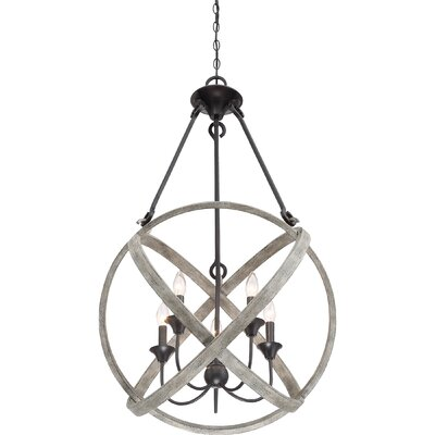 Vigue 5-Light Globe Pendant