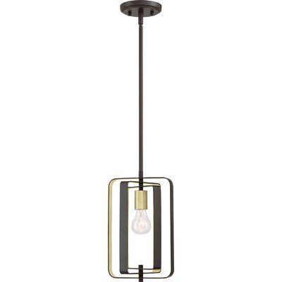 Clabaugh 1-Light Mini Pendant