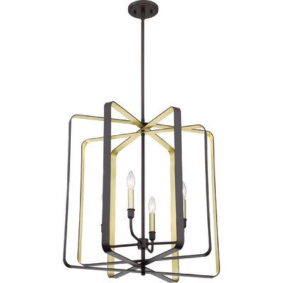 Clabaugh 4-Light Foyer Pendant