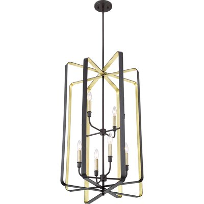 Clabaugh 8-Light Foyer Pendant