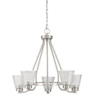 Haskett 5-Light Candle-Style Chandelier