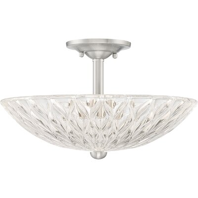 Mccaslin 3-Light Semi Flush Mount