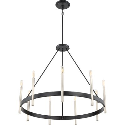 Doucette 9-Light Candle-style Chandelier