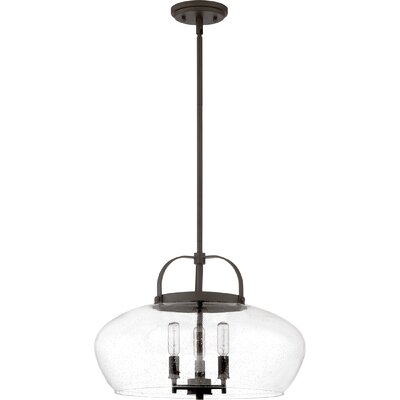 Hasler 3-Light Inverted Pendant Finish: Old Bronze