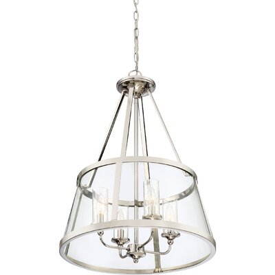 Devita 4-Light Drum Pendant