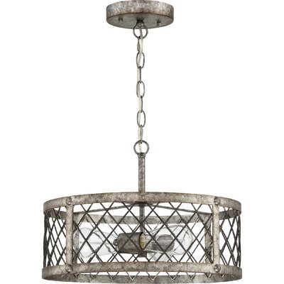 Dillion 3-Light Drum Pendant