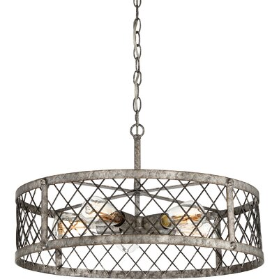 Dillion 5-Light Drum Pendant