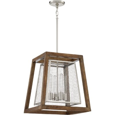 Dillow 4-Light Foyer Pendant