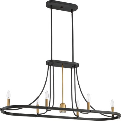 Victor Harbor 7-Light Kitchen Island Pendant