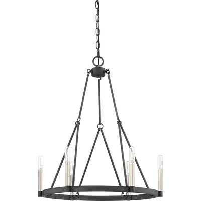 Lopes 6-Light Candle-Style Chandelier