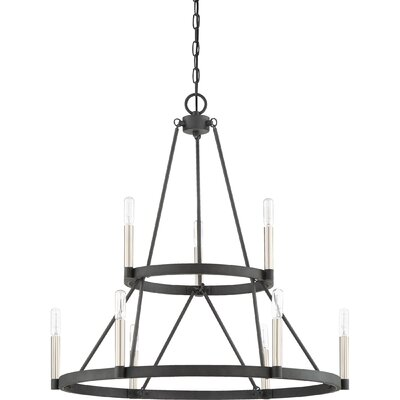 Lopes 9-Light Candle-Style Chandelier