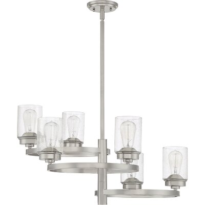 Dicken 6-Light Candle-Style Chandelier
