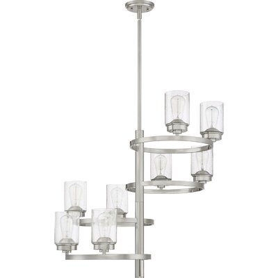 Dicken 8-Light Candle-Style Chandelier