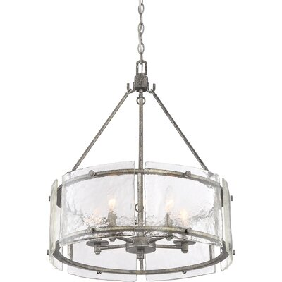 Hasse 5-Light Drum Pendant