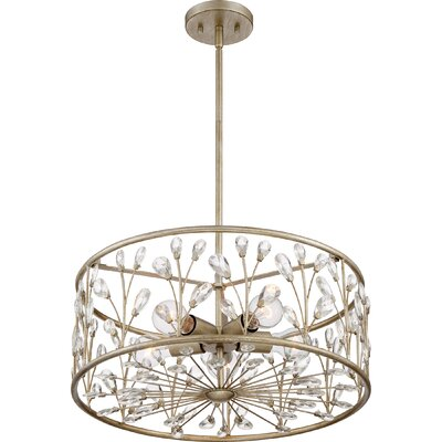 Mccaulley 5-Light Drum Pendant