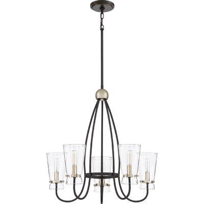 Vidaurri 5-Light Candle-Style Chandelier