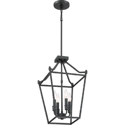 Vidales 4-Light Foyer Pendant