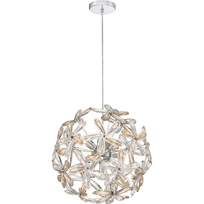 Remick 7-Light Globe Pendant