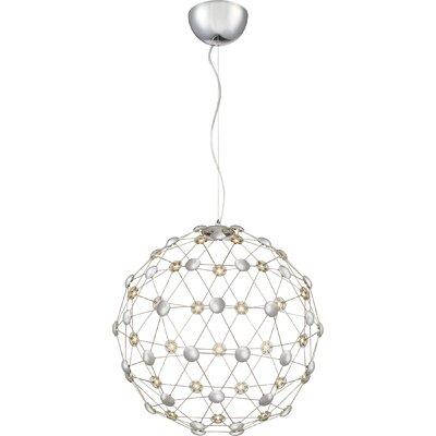 Rendon LED Globe Pendant Size: 21 H x 20.5 W  x20.5 D