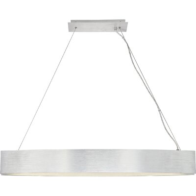 Rempe LED Kitchen Island Pendant Finish: Brushed Aluminum