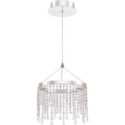 Tilda 1-Light LED Crystal Pendant