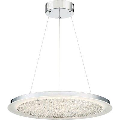 Reinhard LED Crystal Pendant