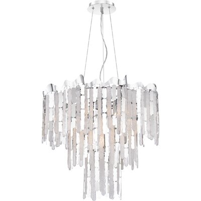 Reinke 7-Light Crystal Pendant