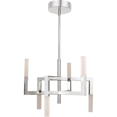 Reinoso 6-Lights LED Sputnik Chandelier