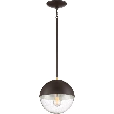 Claar 1-Light Globe Pendant