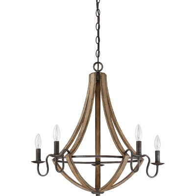 Reimers 5-Light Candle-Style Chandelier