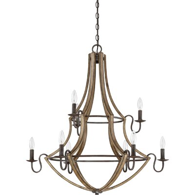 Reimers 9-Light Candle-Style Chandelier