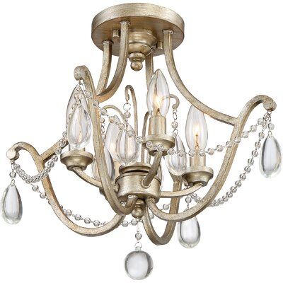 Mcchristian 4-Light Semi Flush Mount