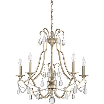 Mcchristian 5-Light Candle-Style Chandelier