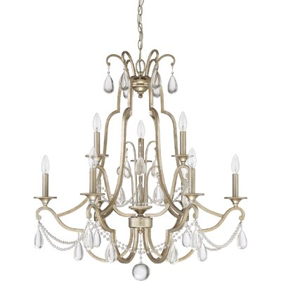 Mcchristian 9-Light Candle-Style Chandelier