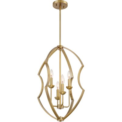 Marc 4-Light Foyer Pendant