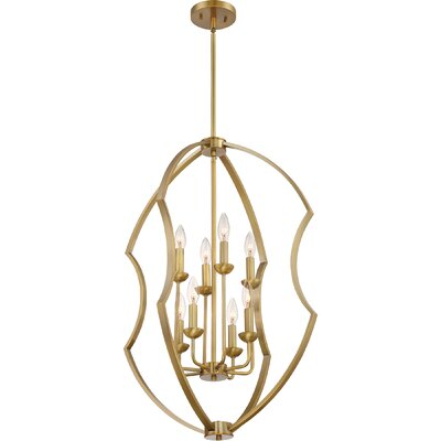 Marc 8-Light Foyer Pendant