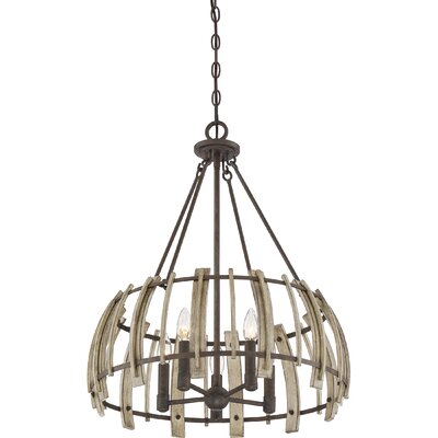 Vigna 5-Light Drum Pendant