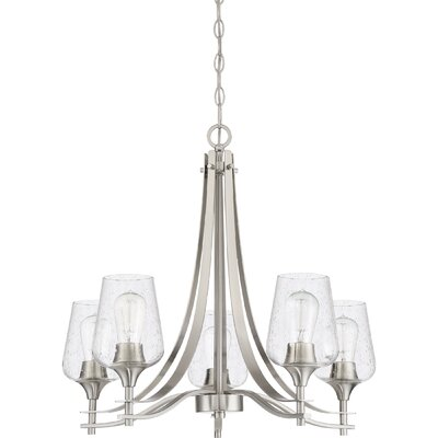 Haskin 5-Light Candle-Style Chandelier