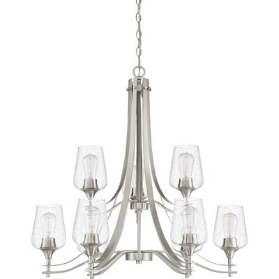 Haskin 9-Light Candle-Style Chandelier