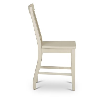 Chong 24 Bar Stool (Set of 2) Color: Antique White