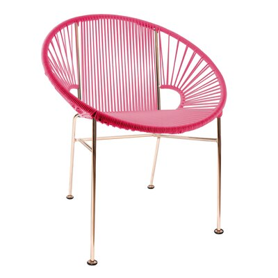 Mason Dining Chair Color: Pink/Copper