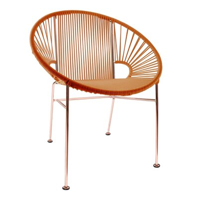 Mason Dining Chair Color: Orange/Copper