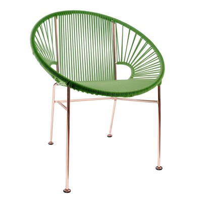 Mason Dining Chair Color: Cactus/Copper