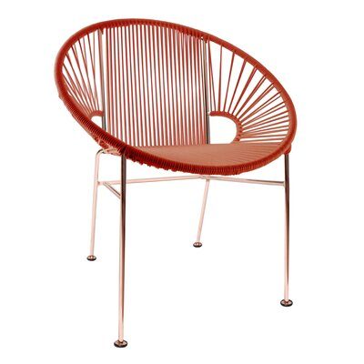 Mason Dining Chair Color: Red/Copper