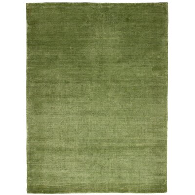 One-of-a-Kind Heidenreich Hand-Knotted Wool Lime Area Rug