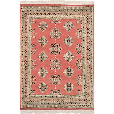 One-of-a-Kind Etting Hand-Knotted Wool Copper Area Rug