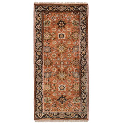 One-of-a-Kind Etna Hand-Knotted Wool Copper Area Rug