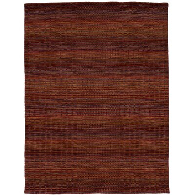 One-of-a-Kind Eurich Hand-Knotted Wool Dark Red Area Rug