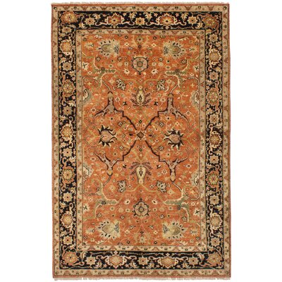 One-of-a-Kind Etna Hand-Knotted Wool Dark Copper Area Rug