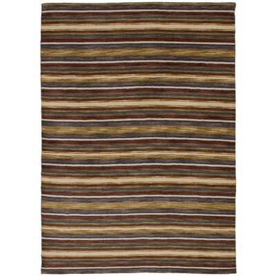 One-of-a-Kind Eurich Hand-Knotted Wool Dark Brown/Olive Area Rug